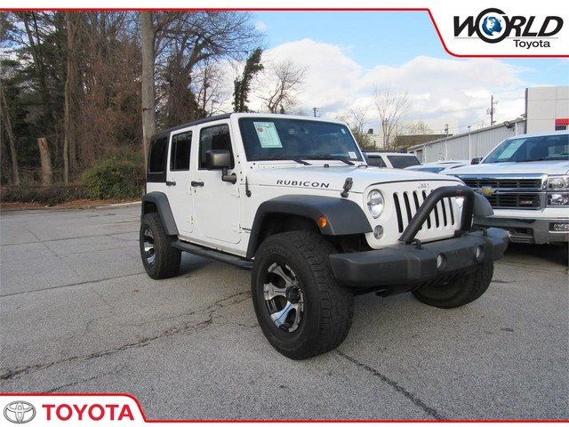 2015 Jeep Wrangler Unlimited Rubicon >> Pre Owned 2015 Jeep Wrangler Unlimited Rubicon Four Wheel Drive Suv In Stock