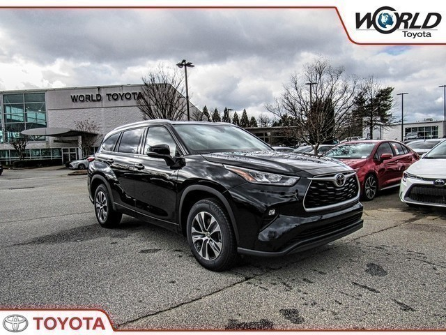 New 2020 Toyota Highlander Xle Suv In Atlanta Ls500551 World Toyota