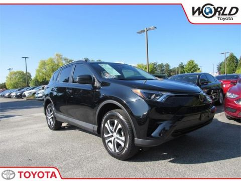 Certified Pre-Owned 2017 Toyota RAV4 LE FWD Front Wheel Drive SUV - In-Stock